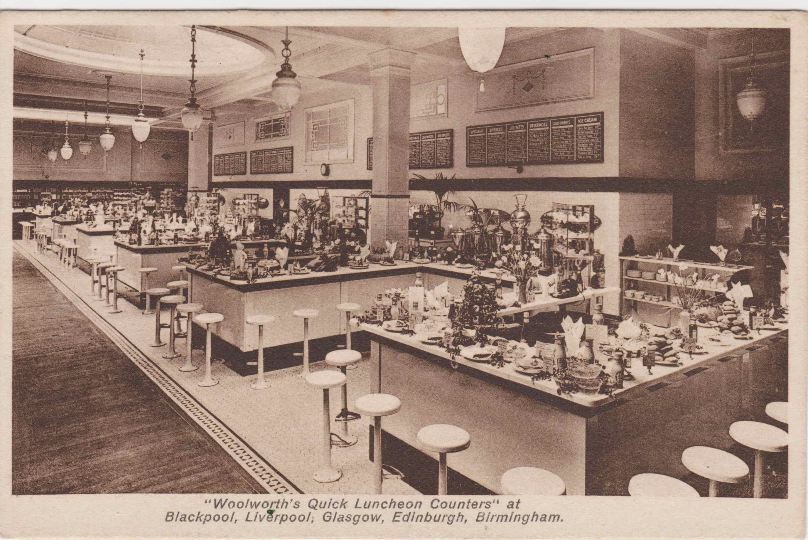 Eating Out at Woolworth's | Building Our Past