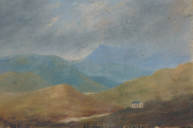 Kinloch Church Lochs oil 2 - Copy