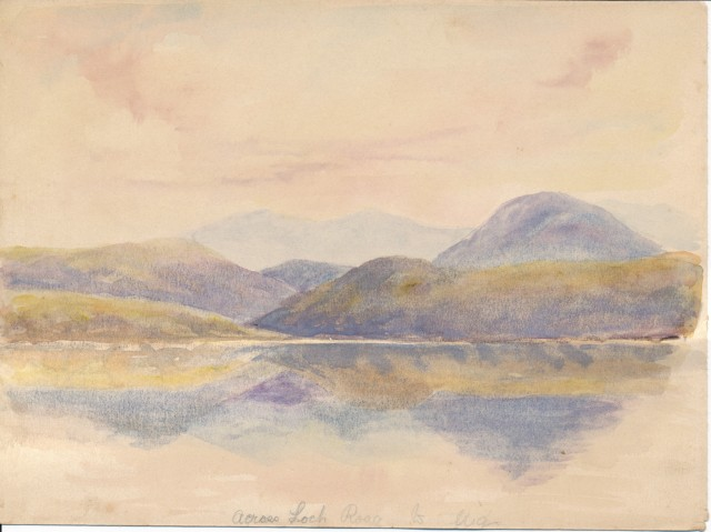 Across Loch Roag to Uig