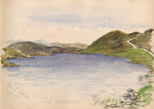 Loch Arrah na'L 15June 1900