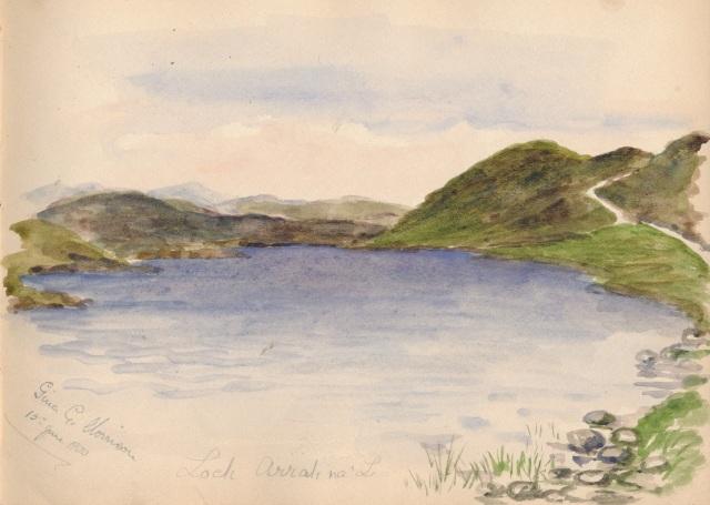 Loch Arrah na'L 15June 1900