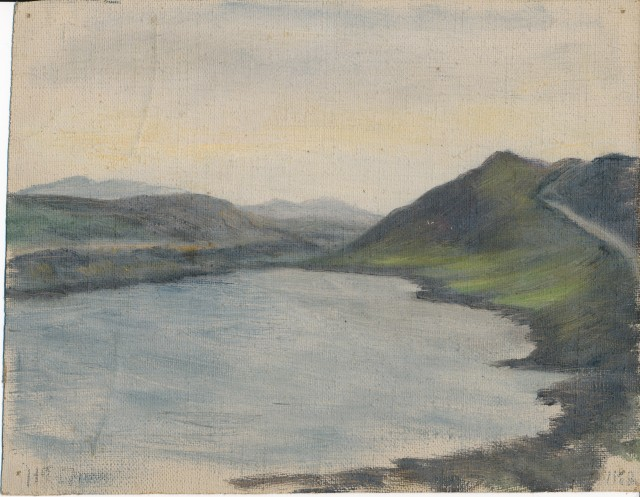 Untitled Loch oil on canvas 1
