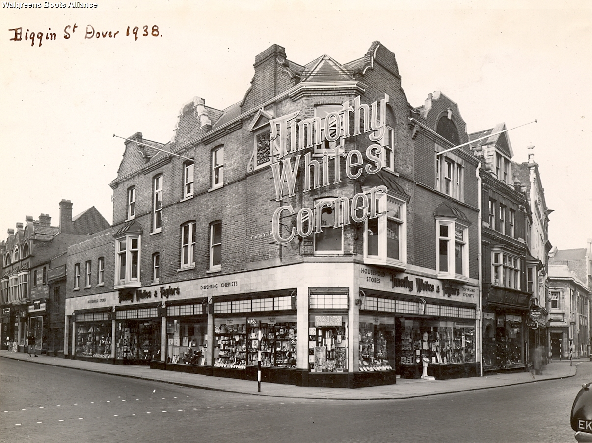 Boots Archive Dover 1938