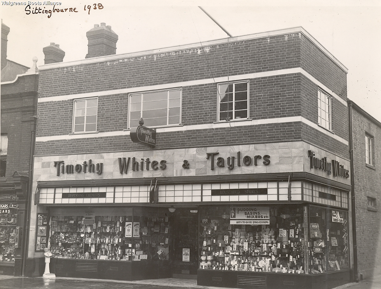 Boots Archive Sittingbourne 1939 & Taylors